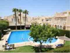 2 Dormitorios, 3 Baños Adosado Se Vende en Playa Flamenca, Alicante