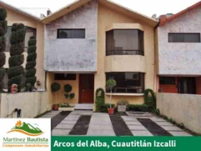 Arcos del Alba Cuautitlán Izcalli Bieninvierte en Casa Sola