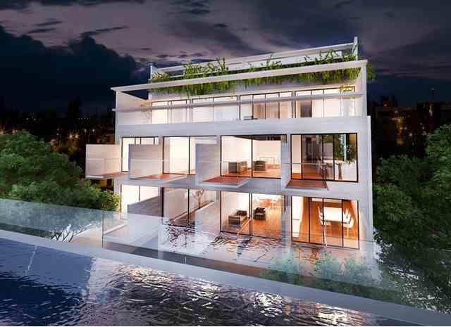 Departamentos con terraza privada, Palermo C.A.B.A.