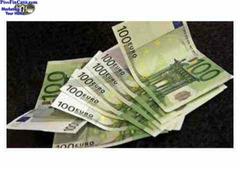 Oferta de préstamo de dinero entre personas serias